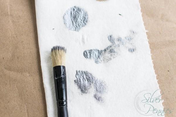 Blotting Stencil Brush