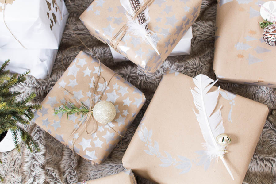 Diy Christmas Wrapping Paper Finding Silver Pennies