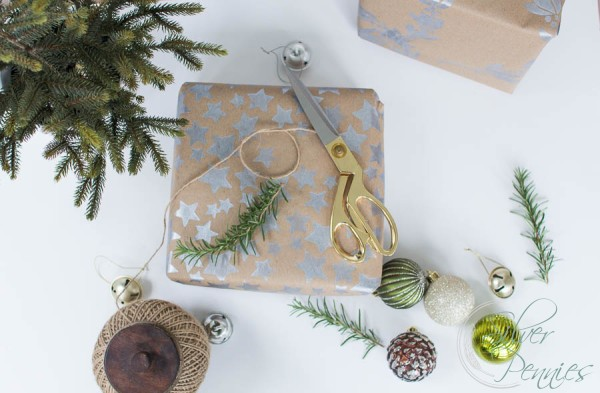 Creating Christmas Wrapping Paper