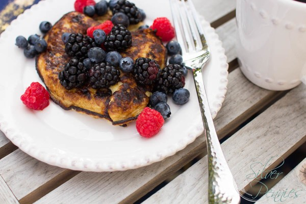 Ready in seconds Paleo Pancakes