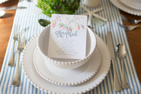 Thanksgiving Free Printables (in Watercolor)