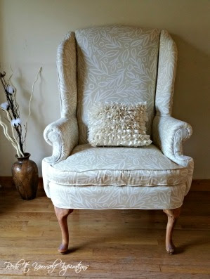 take a seat wingback chair