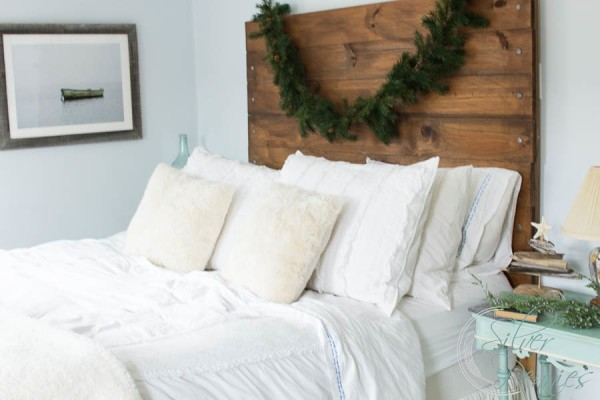 Bedroom Christmas Home Tour by Finding Silver Pennies
