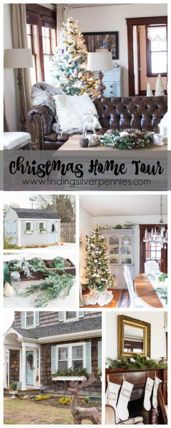Christmas Home Tour 2015 Finding Silver Pennies
