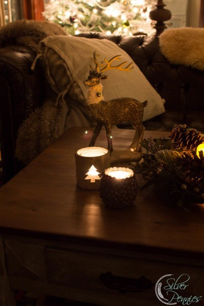 Deer and Tea Lights