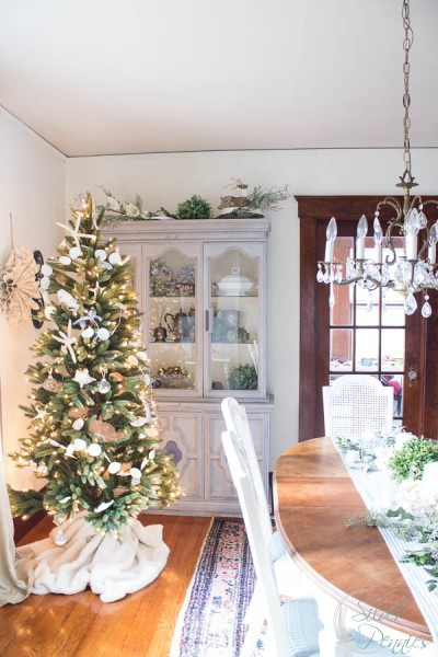 Dining Room Celebrating Christmas