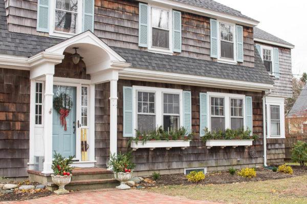 Exterior of Our Home Christmas Tour