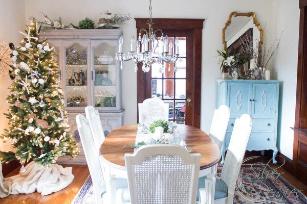 Full Dining Room Christmas Home Tour