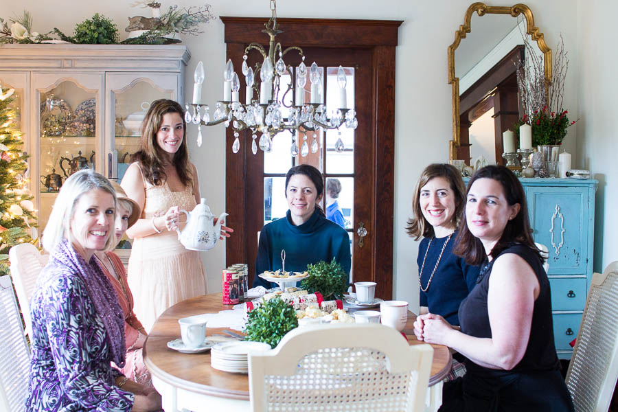 A Downton Abbey Tea Party Finding Silver Pennies