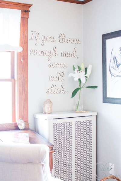 Home office - Canvas Letters