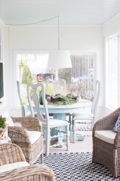 Sunroom Christmas Home Tour Finding Silver Pennies