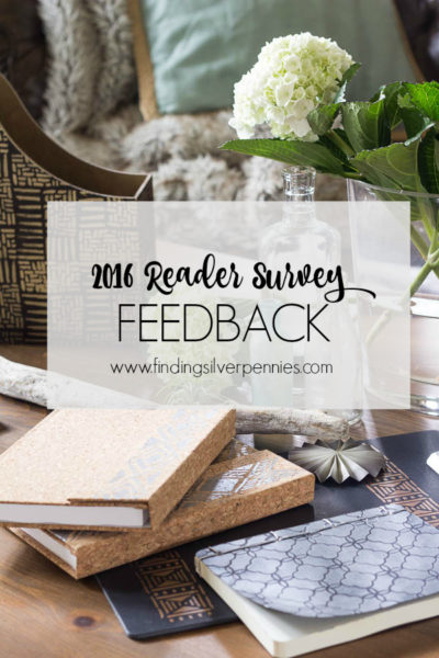 2016 Reader Survey Feedback