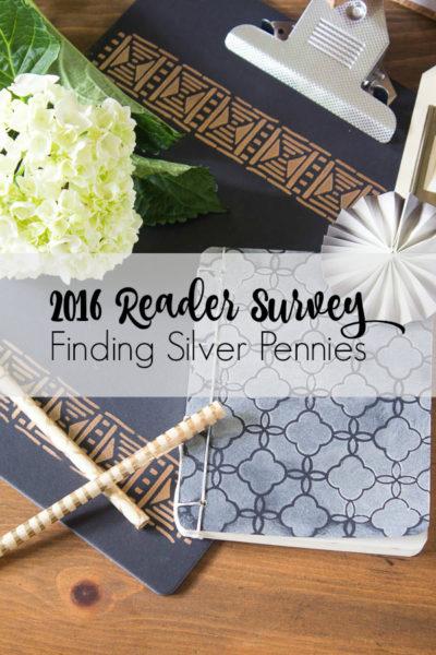 Please Take Our Reader Survey