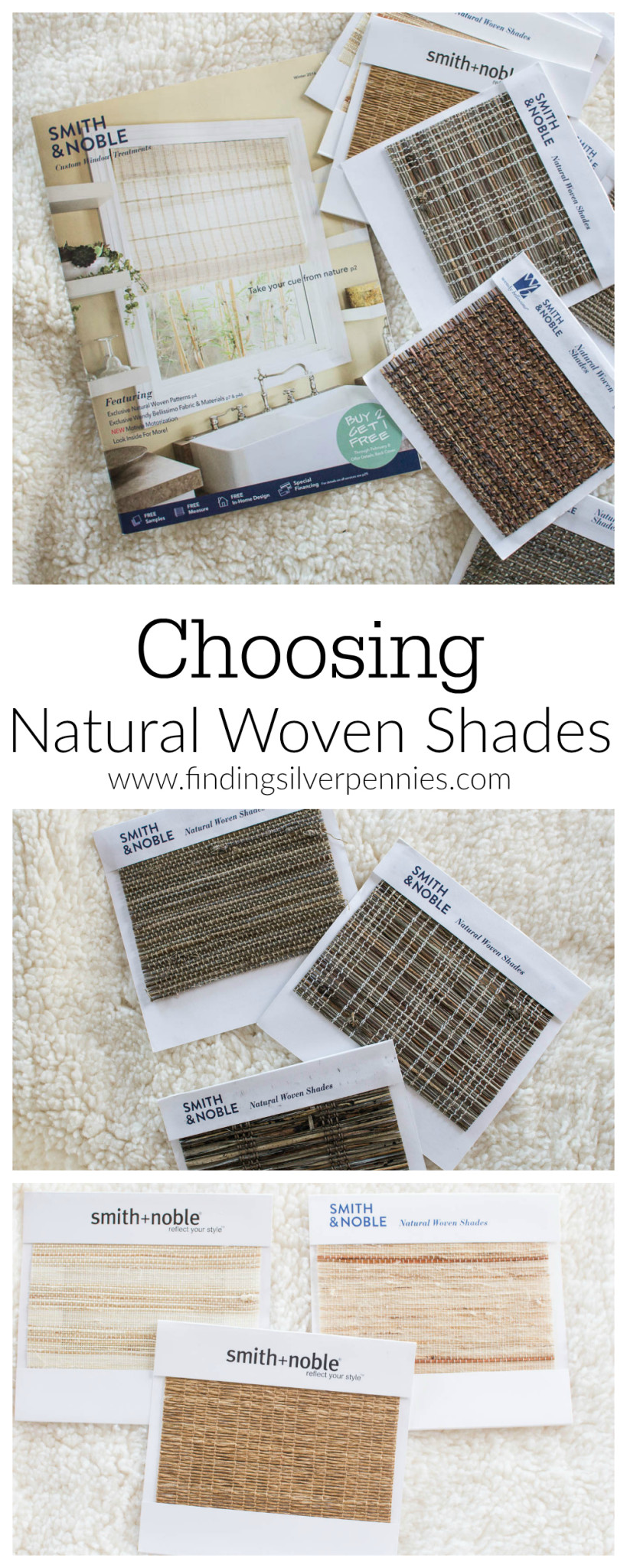 What roman shades should i choose finding silver pennies for Smith and noble natural woven shades