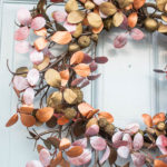 How to Make a Metallic Wreath (and a giveaway)