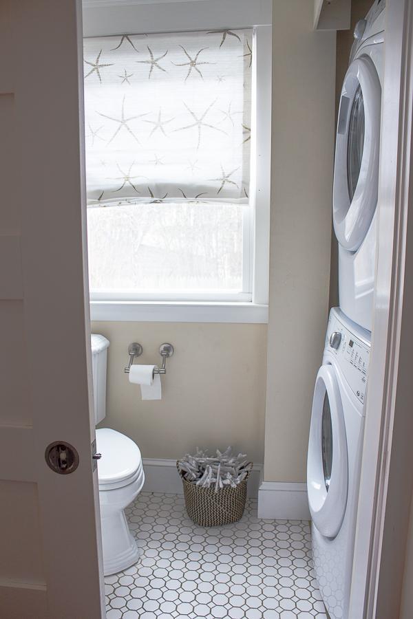 half bathroom laundry room finding silver pennies. Black Bedroom Furniture Sets. Home Design Ideas