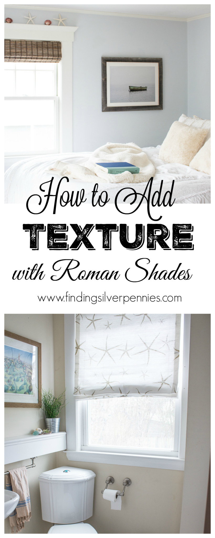 How to Add Texture with Roman Shades