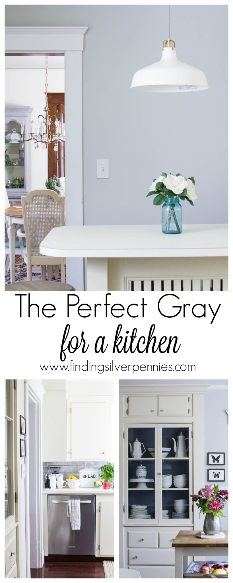 The perfect gray for a kitchen