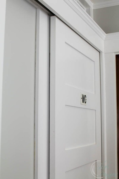 View of Door into our WC
