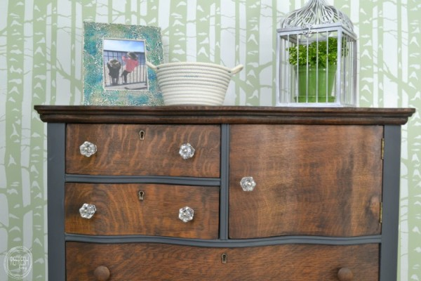 stained-and-painted-antique-oak-dresser