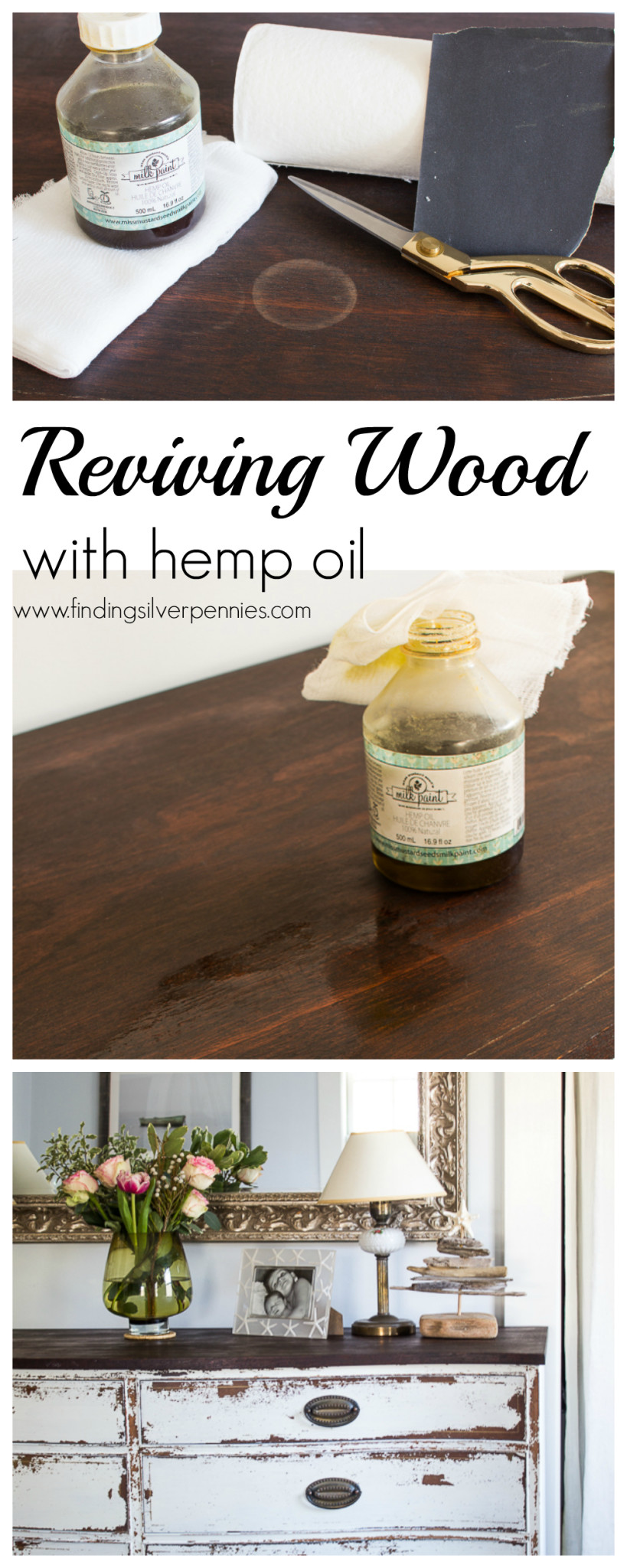 How to Revive Wood With Hemp Oil