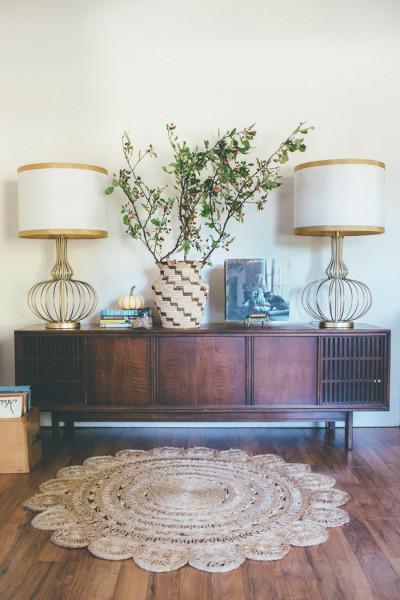 Midcentury-Boho-Living-Room-Vignette