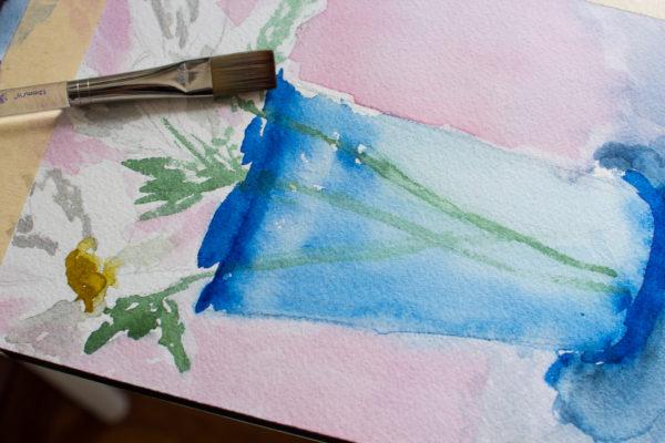 Daisy Watercolor Free Printable