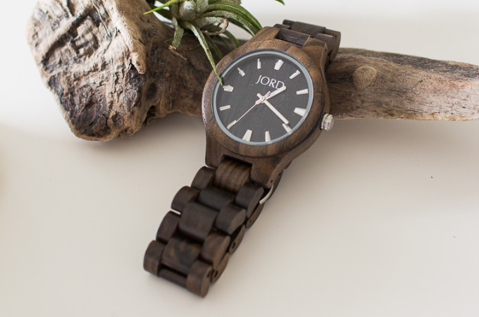 Wood Watch with Air Plant and Driftwood