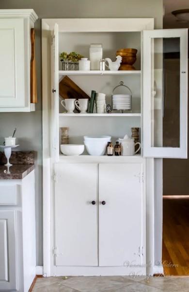 kitchen built in cabinet
