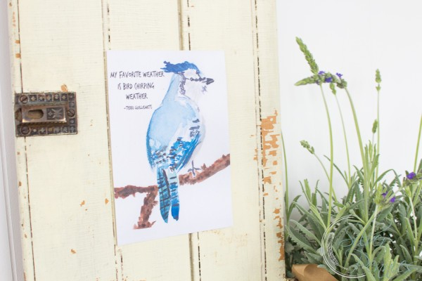 Chippy Door with Free Printable