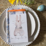 Easter Table Setting and Free Printable