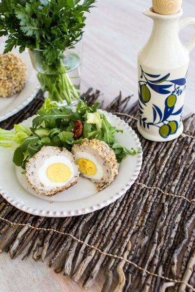 Healthy Paleo Scotch Eggs