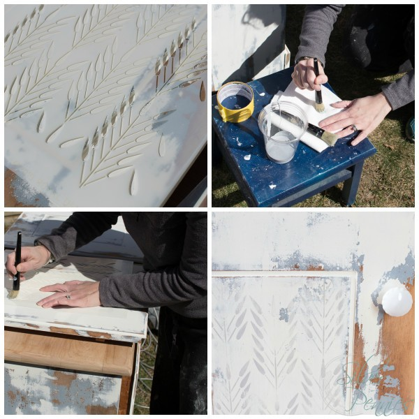 Easy tips for stenciling a cabinet