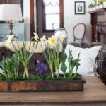 Rustic Spring Planter