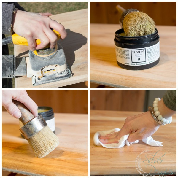 Sanding and Reviving Wood with Hemp Oil