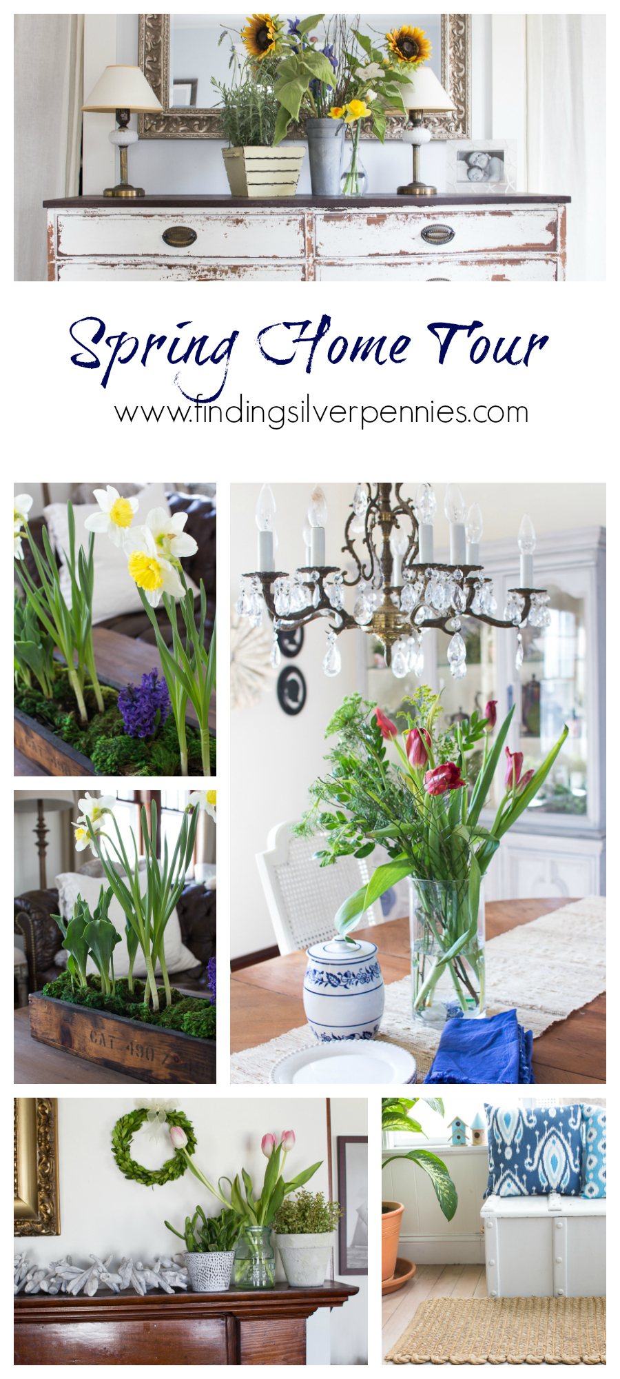Spring Home Tour Finding Silver Pennies