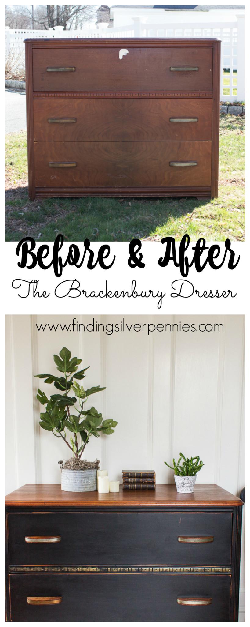 Before and after Brackenbury Dresser