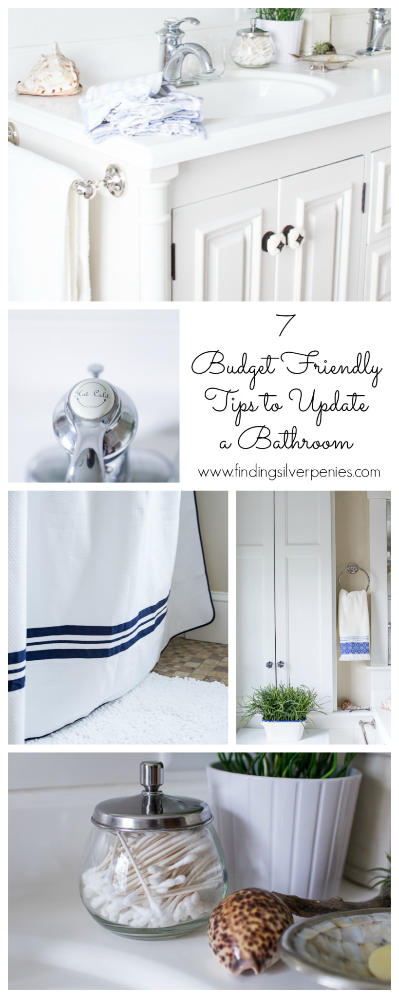 Budget Friendly Bathroom Tips