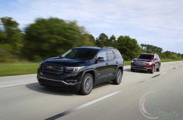Driving the GMC Acadia