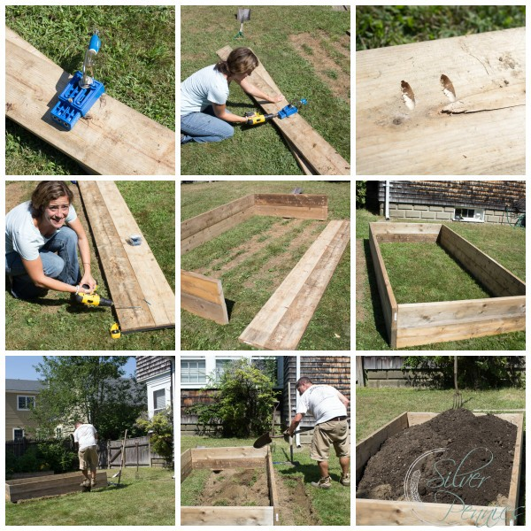 How To Build Raised Garden Beds Finding Silver Pennies