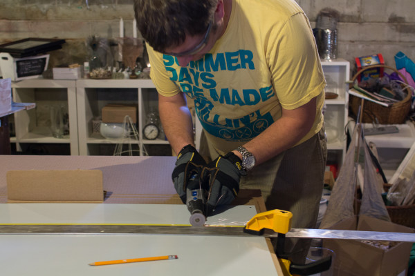 Cutting Metal for Backsplash