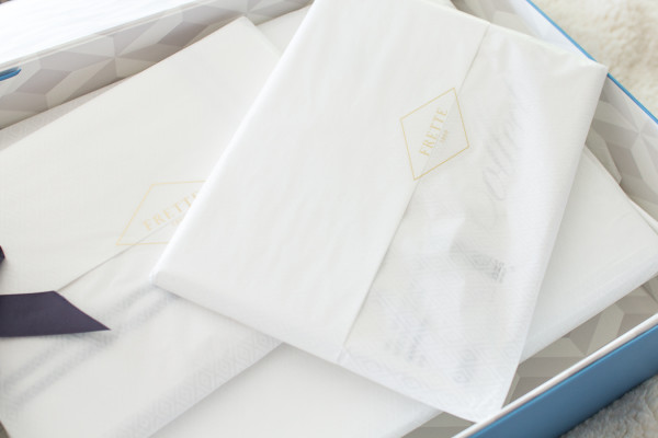 Luxurious bed linens offer timeless style and comfort for our master bedroom. www.findingsilverpennies.com