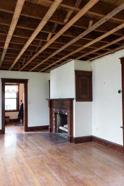 Living Room Demo and renovation