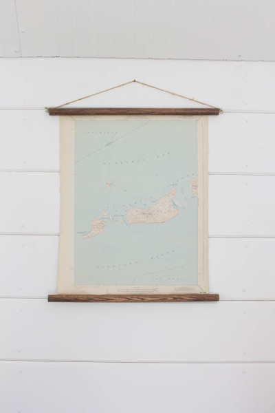 Nautical Charts Turned into Wall Hangings