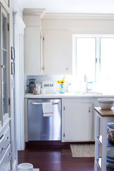 Classic Subway Tile in our Kitchen
