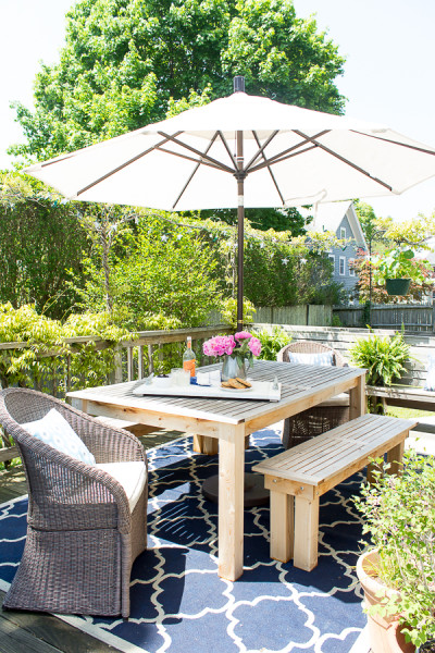 Outdoor Entertaining and summer recipes / www.findingsilverpennies.com
