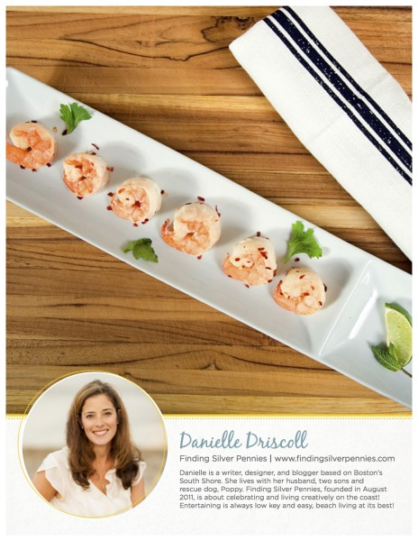 Danielle's Spicy Shrimp from Simply Summer Free Cookbook with Wayfair