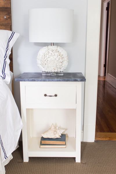 The Best Coastal Paint Colors I Finding Silver Pennies - Silver Cloud in our Bedroom