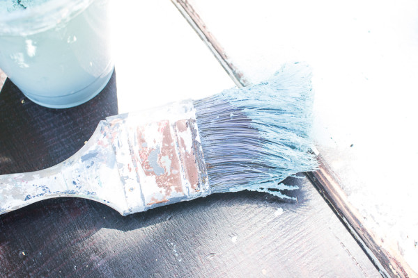 Brush layered in Saltwash.