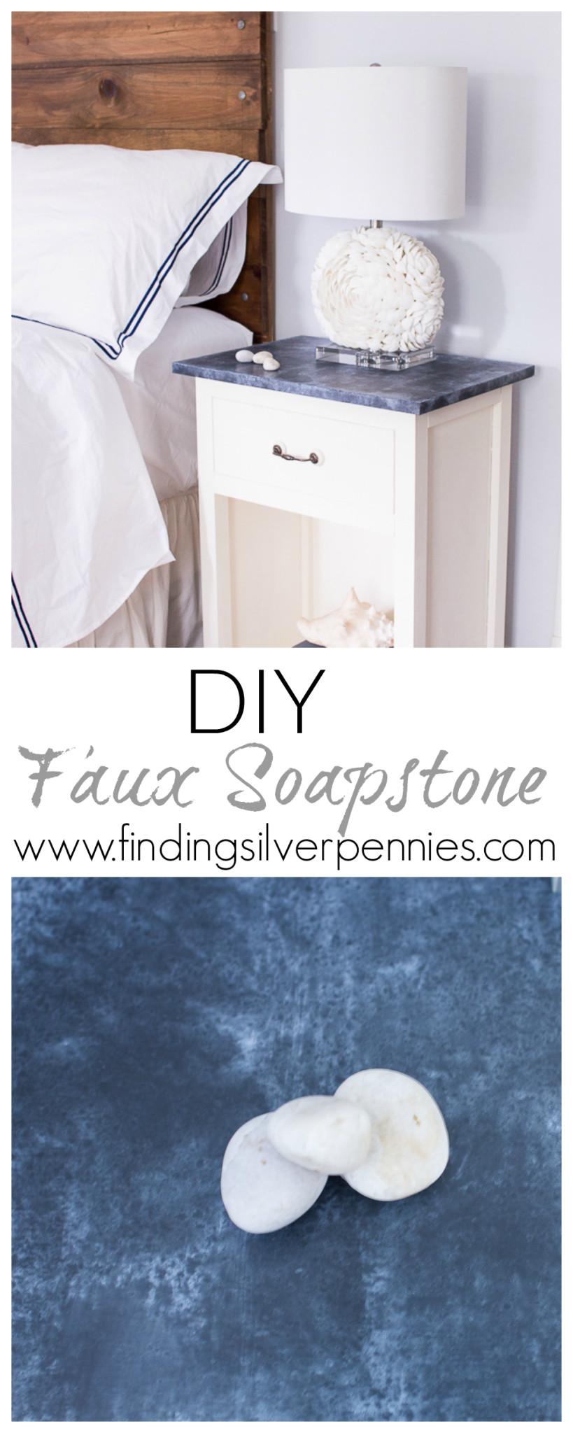 DIY Faux Soapstone